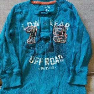 Boys long sleeve thermal